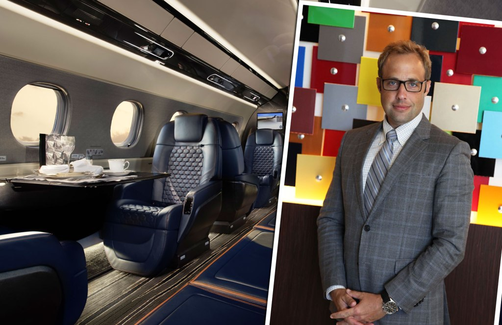 Jay Beever VP of Design Operations at Embraer Jets