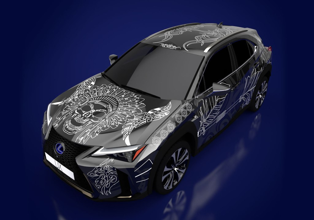 Cannock's Kyra Cleeton Wins Lexus Tattooed Car Competition
