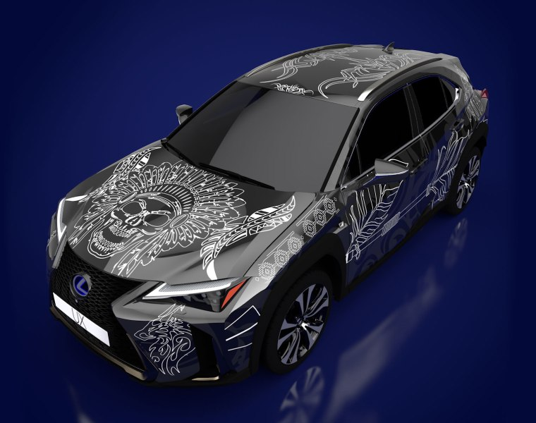 Cannock's Kyra Cleeton Wins Lexus Tattooed Car Competition