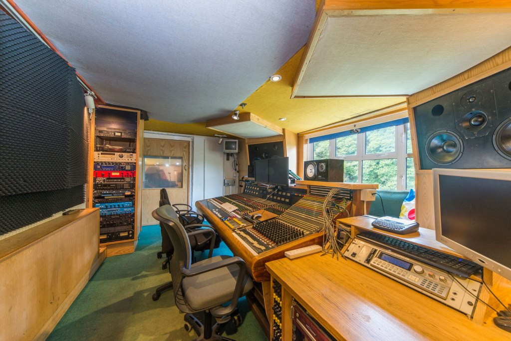 The Old Sawmills Cornwall recording studio