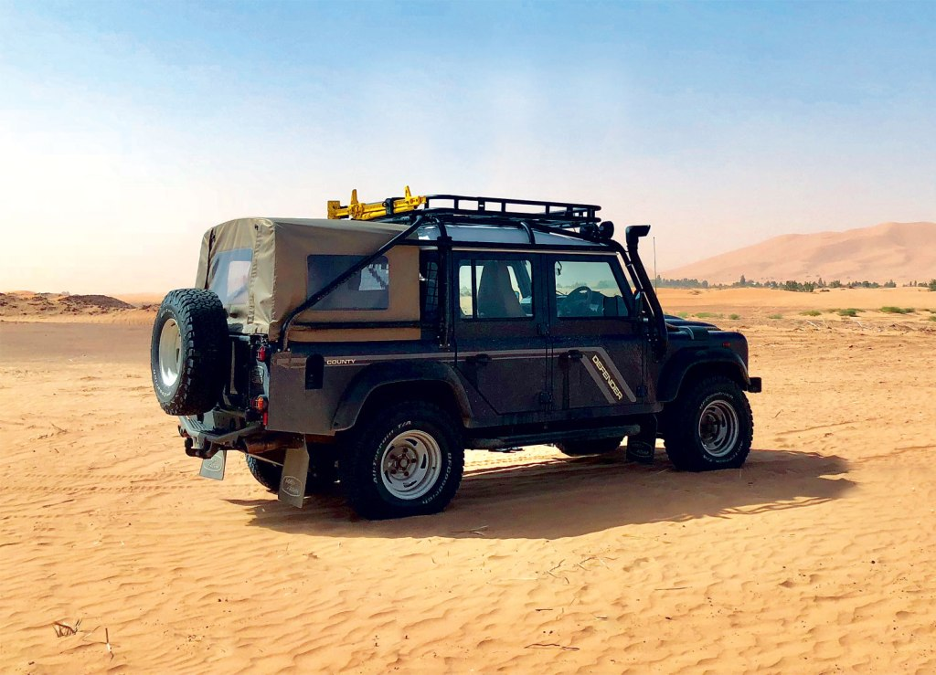 Twisted Automotive Land Rover in the Desert