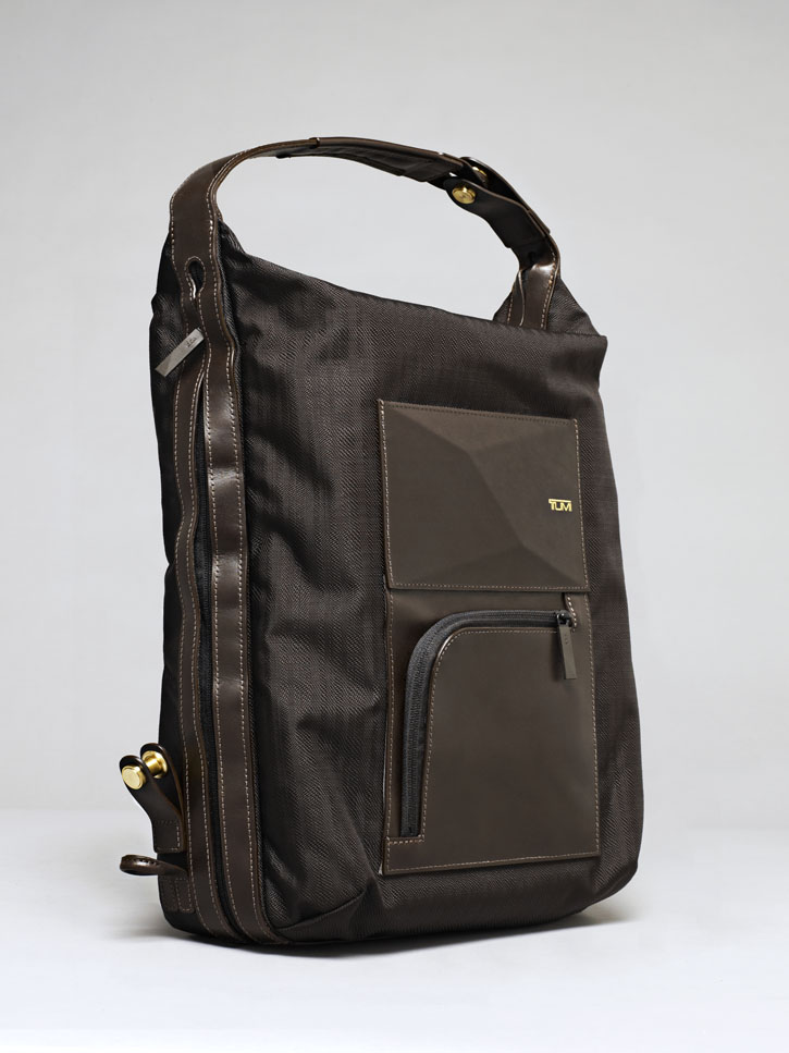 Tumi and Dror backpack