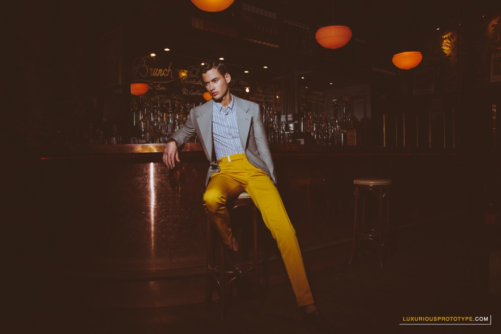 After Five Fashion Editorial for LuxuriousPROTOTYPE