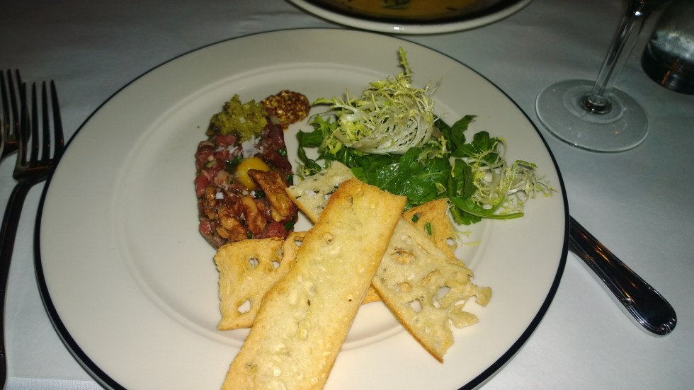 Bill's Food and Drink Beef Tartare