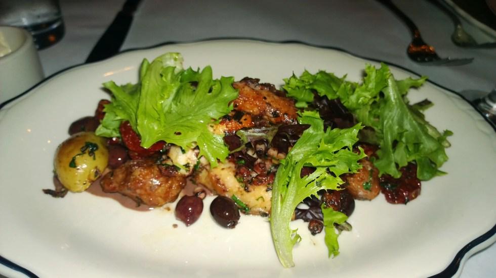Bill's Food and Drink - Mediterranean Octopus