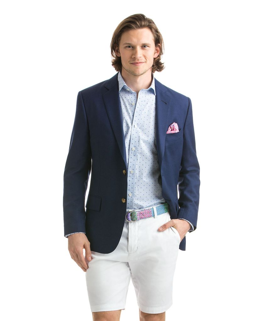 Derby Whale Lined Hopsack Sportcoat