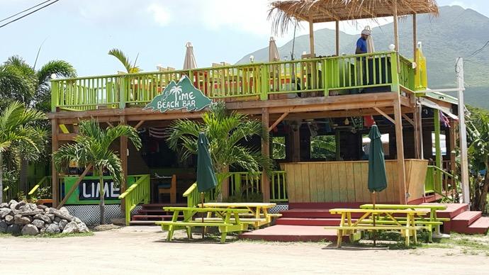 Lime BEach Bar Nevis