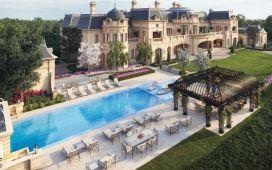 Villa Firenze 165 Million Mediterranean Mega Mansion In