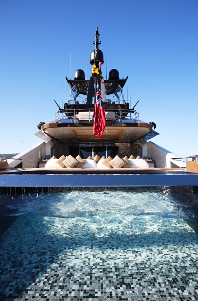 lady m yacht pool