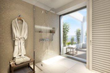 "LIM 7Pines Apartment Badezimmer - Escape to Paradise – Neues Luxusresort ""7 Pines"" auf Ibiza"