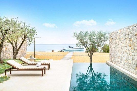 hotel amanzoe heli porto strand - Die exklusivsten Luxushotels Griechenlands