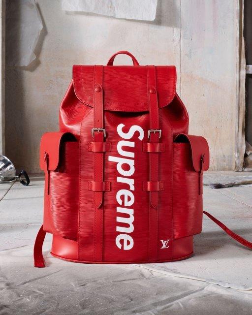 Supreme Louis Vuitton Backpack - Louis Vuitton x Supreme