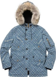 Supreme-Louis-Vuitton-Denim-Wintermantel