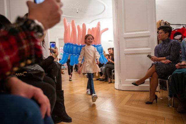 Designer Kindermode Kinderbekleidung KidsFashionShow 1 - Designer-Kinderkleidung bei der Prisco Project Kids Kindermodenschau in München