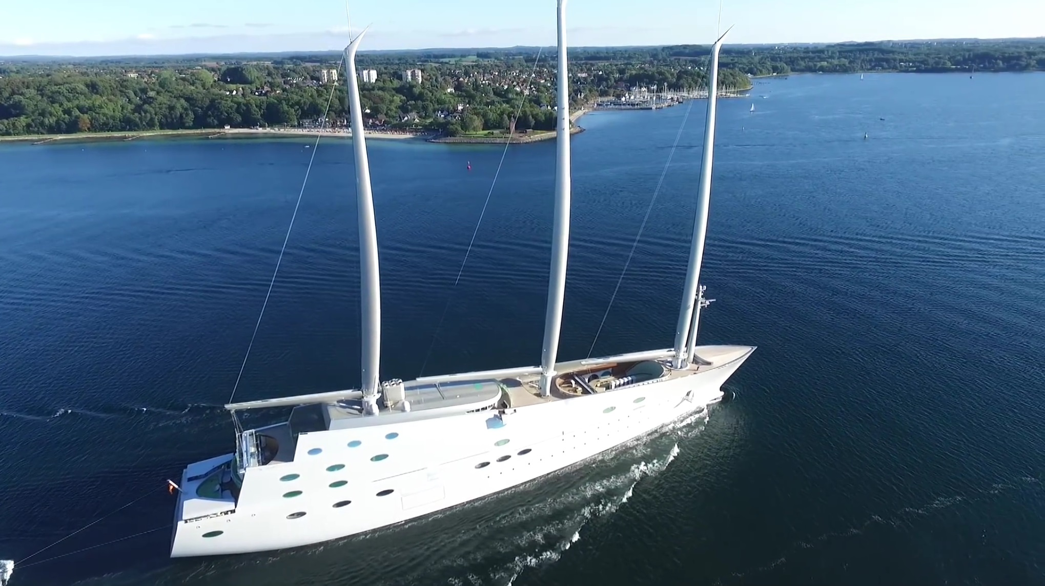 This Futuristic 400 Million Sailing SuperYacht Is The