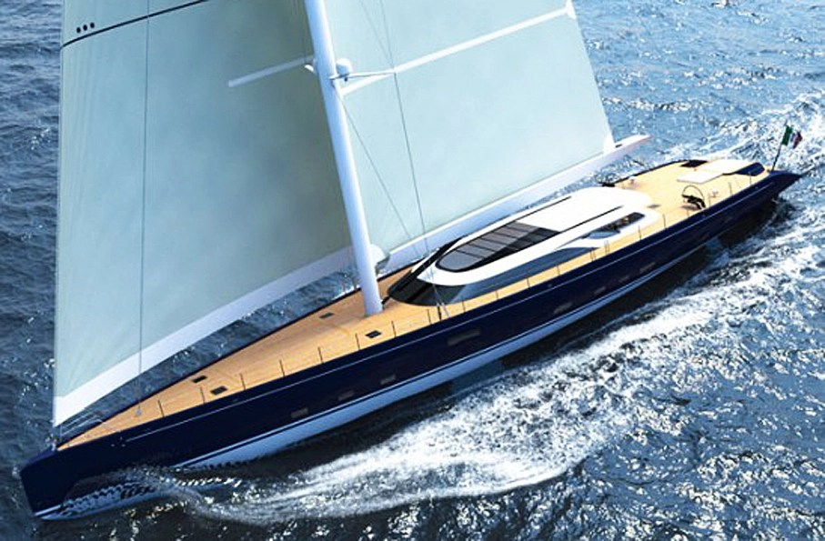 Marco Ferrari And Alberto Franchi Just Created The Most Beautiful Yacht Ever