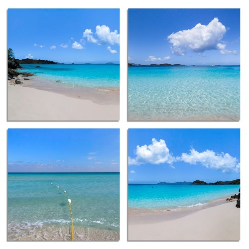 Paradise- Accent 4- pack . The Shop at Tradewinds Travel Photography