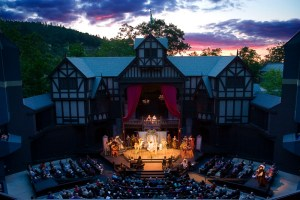 OSF Elizabethan Theatre photo by T. Charles Erickson