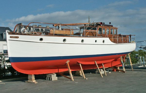 1937 Comben And Hyland 40 Ft Motor Yacht Boats Yachts