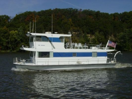 1970 Pluckebaum Houseboat Boats Yachts For Sale