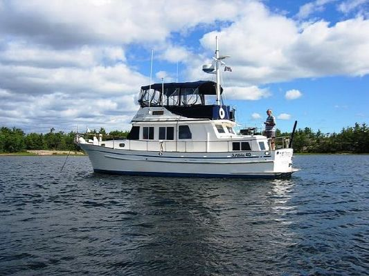 1988 Albin 40 Double Cabin Trawler Boats Yachts For Sale