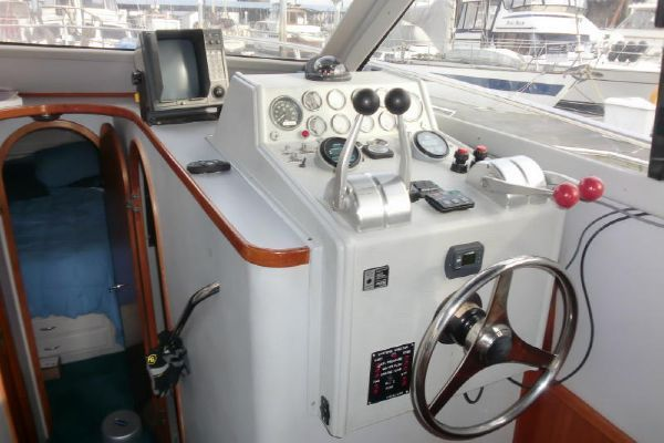1990 Mediterranean 38 Convertible Boats Yachts For Sale