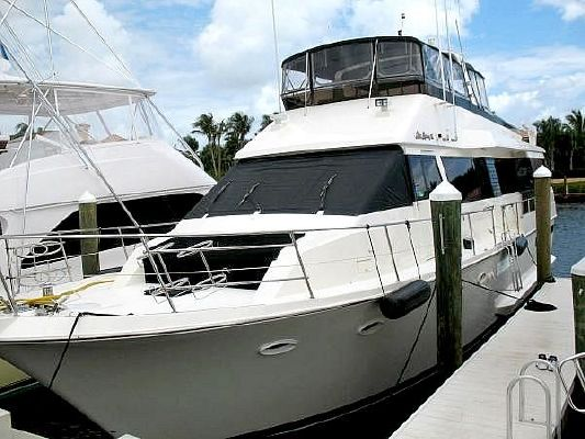 1990 Viking Extended Aft Deck Motoryacht Boats Yachts For Sale