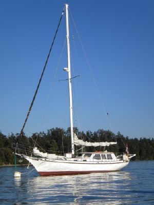 1992 Bill Garden Design Pilothouse Cutter Rig Sailboat
