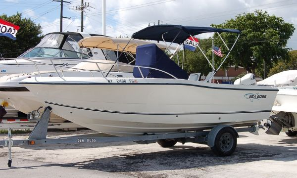 2005 SEA BOSS By SEA PRO 210 CENTER CONSOLE Boats Yachts For Sale