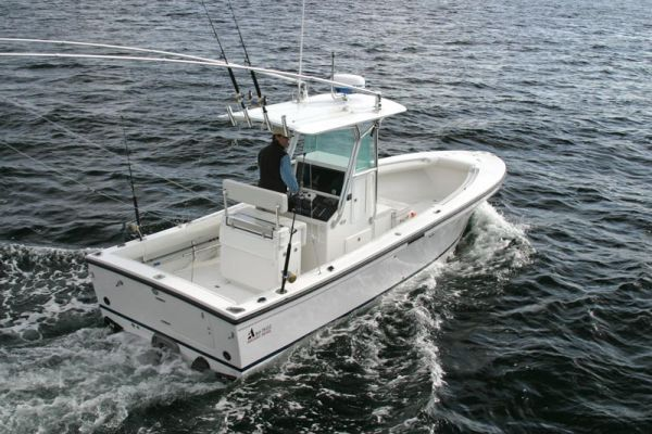 2007 Albin Cape Cod 26 CC 370 HP Volvo Boats Yachts For