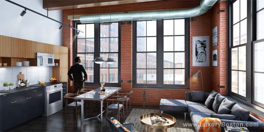 Fort Point Luxury Lofts Boston Condos