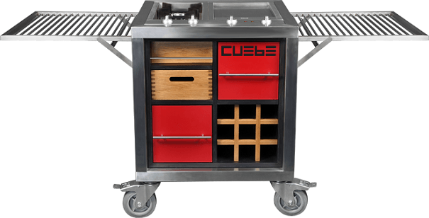 Cuebe Mobile Kitchen by Luxius