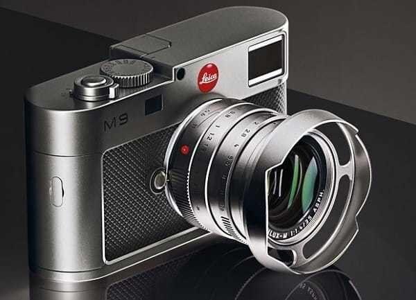 Leica Audi Titanium Limited Edition Camera