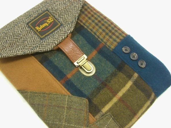 vintage suit ipad cover 1