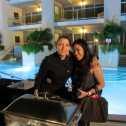 Chef Josefina Santacruz of Dumas Restaurant and Roz du Jour of Luxury Branded