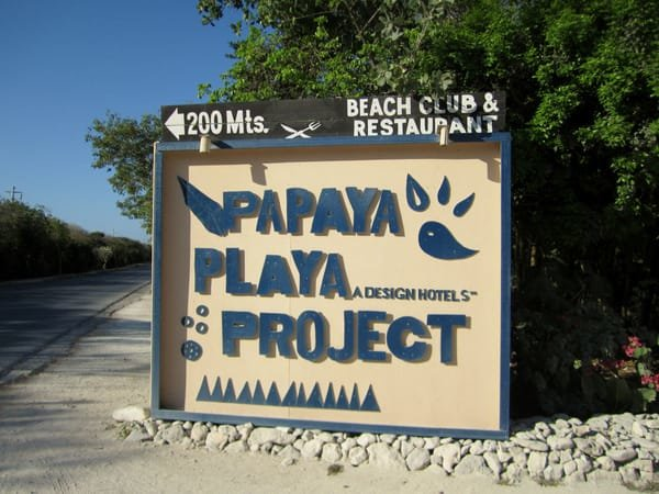 Papaya Playa Project - Design Hotels - Tulum