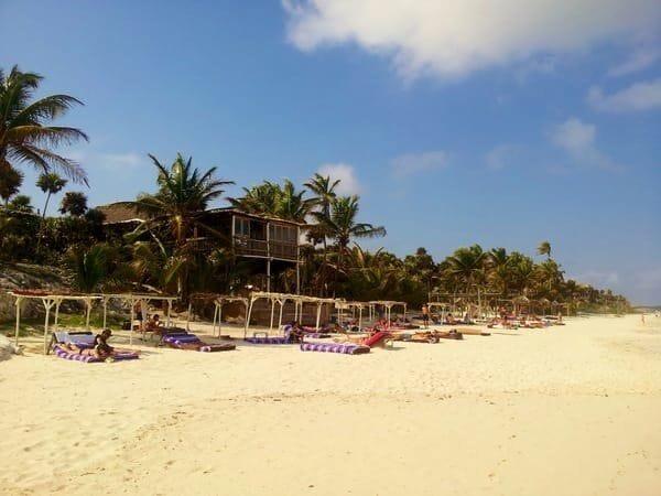 The Papaya Playa Project pop-up hotel in Tulum