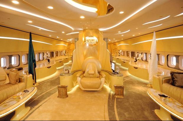 Double Decker Airbus A380 Interior