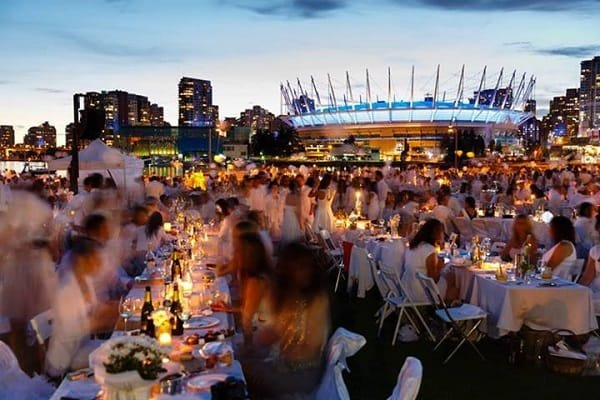 Dinner en Blanc Vancouver