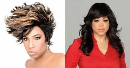 Macy Gray and Stacy Francis