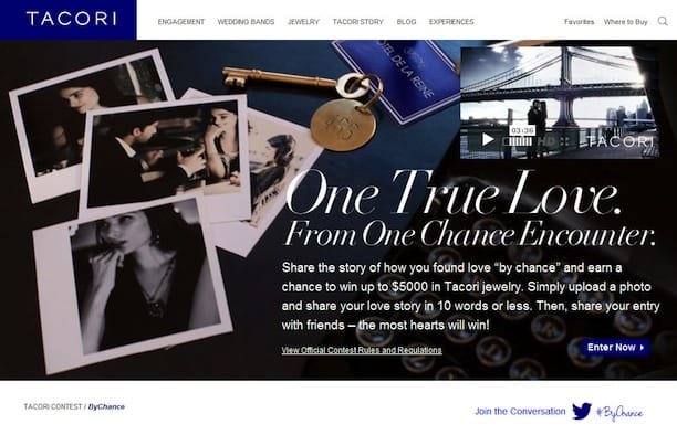 Tacori Facebook Contest