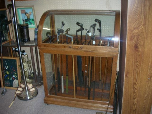 World's Largest Antique Golf Collection Display