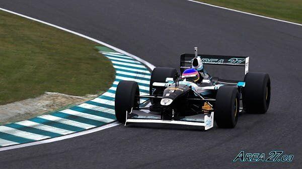 F1 race car for Area 27