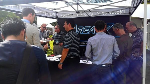 Area 27 at the Luxury & Supercar Weekend Vancouver