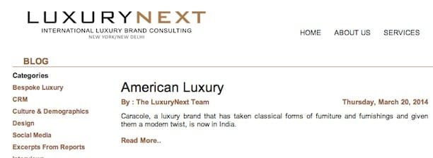 luxurynext blog