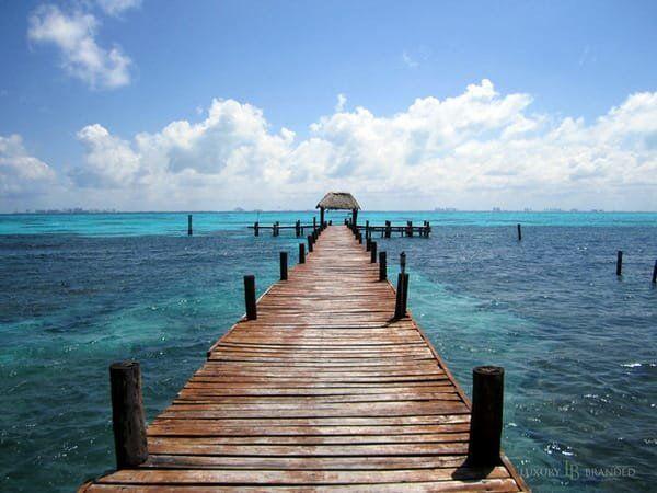 Pier at Casa de los Suenos, Isla Mujeres