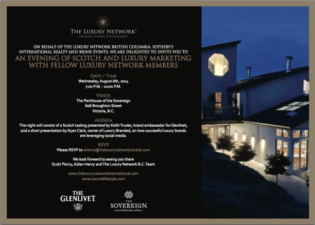 Luxury Network Event Victoria