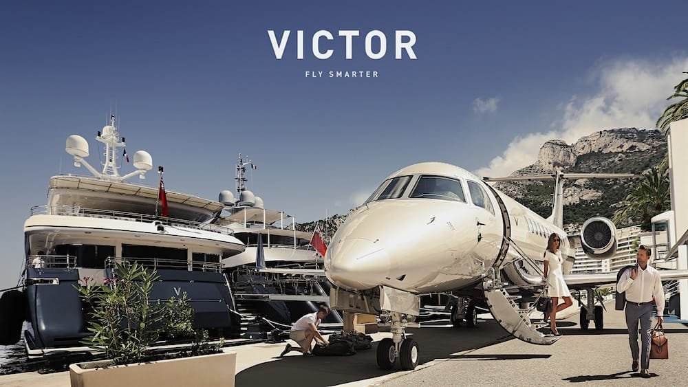 fly victor logo
