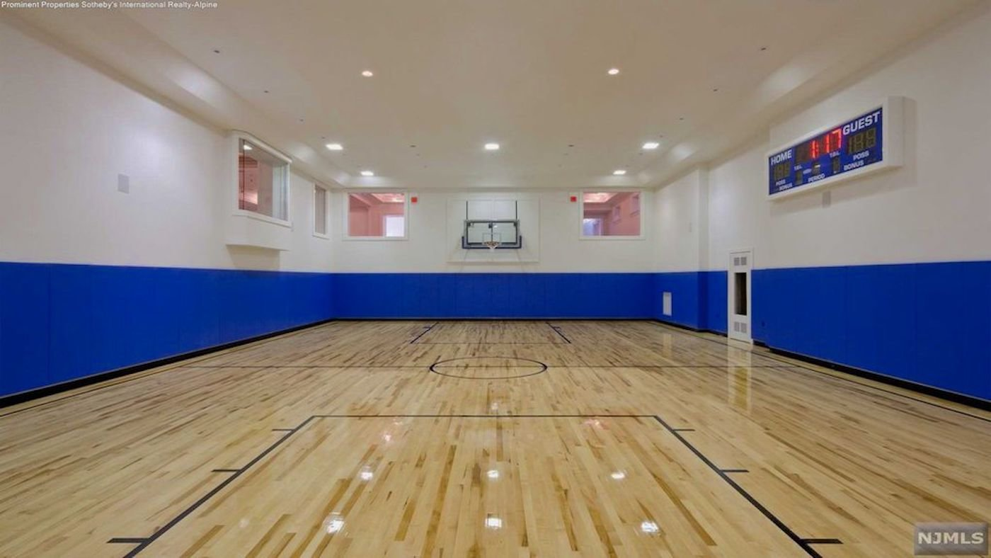 36m New Jersey Compound With Its Own Indoor Basketball Court