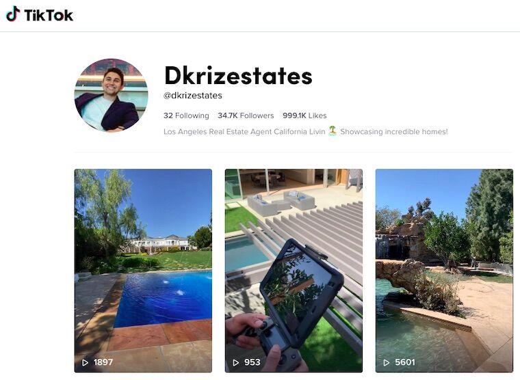 tiktok luxury real estate